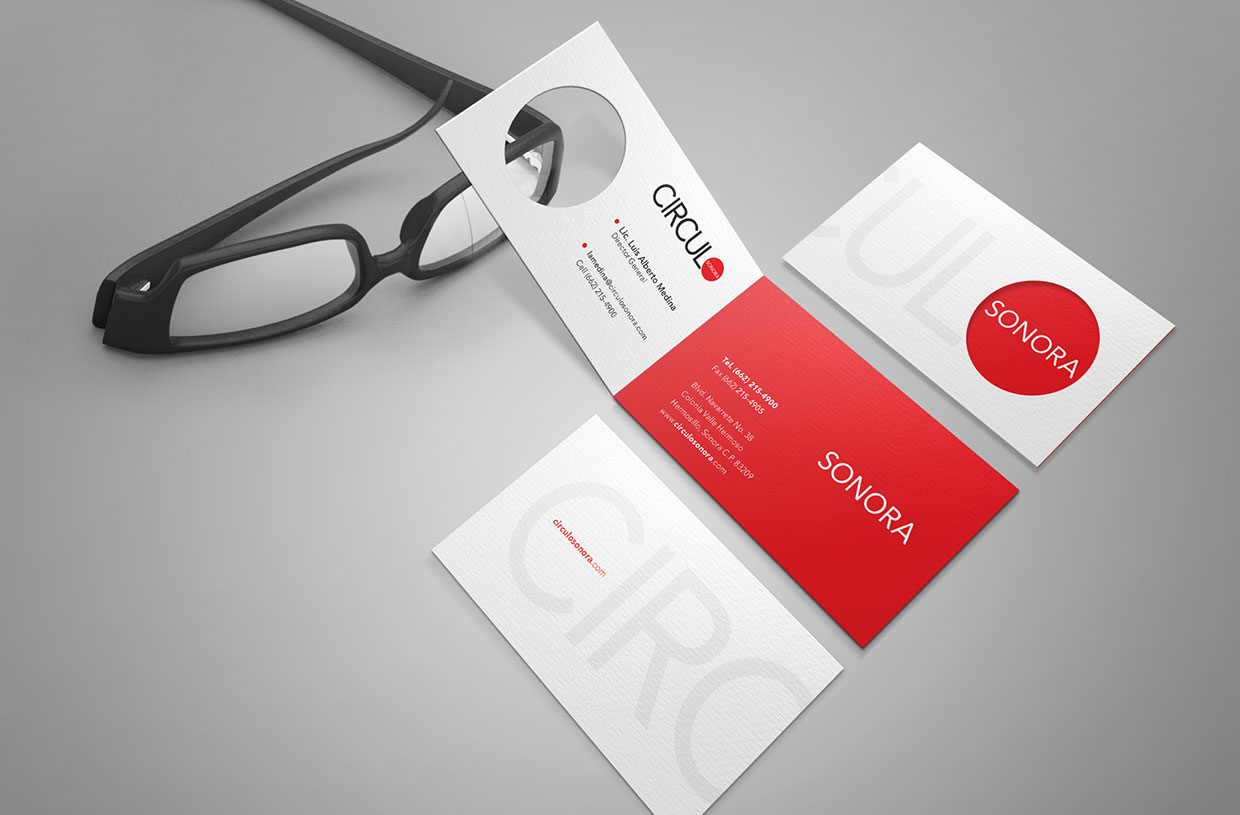 Circulo Magazine business cards