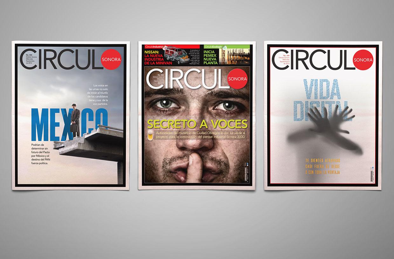 Circulo Magazine covers