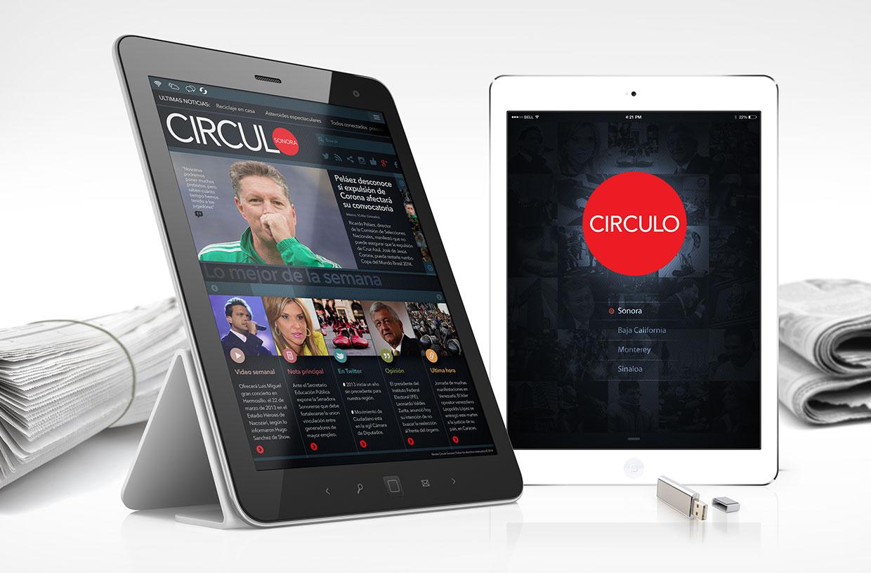 Circulo Magazine website