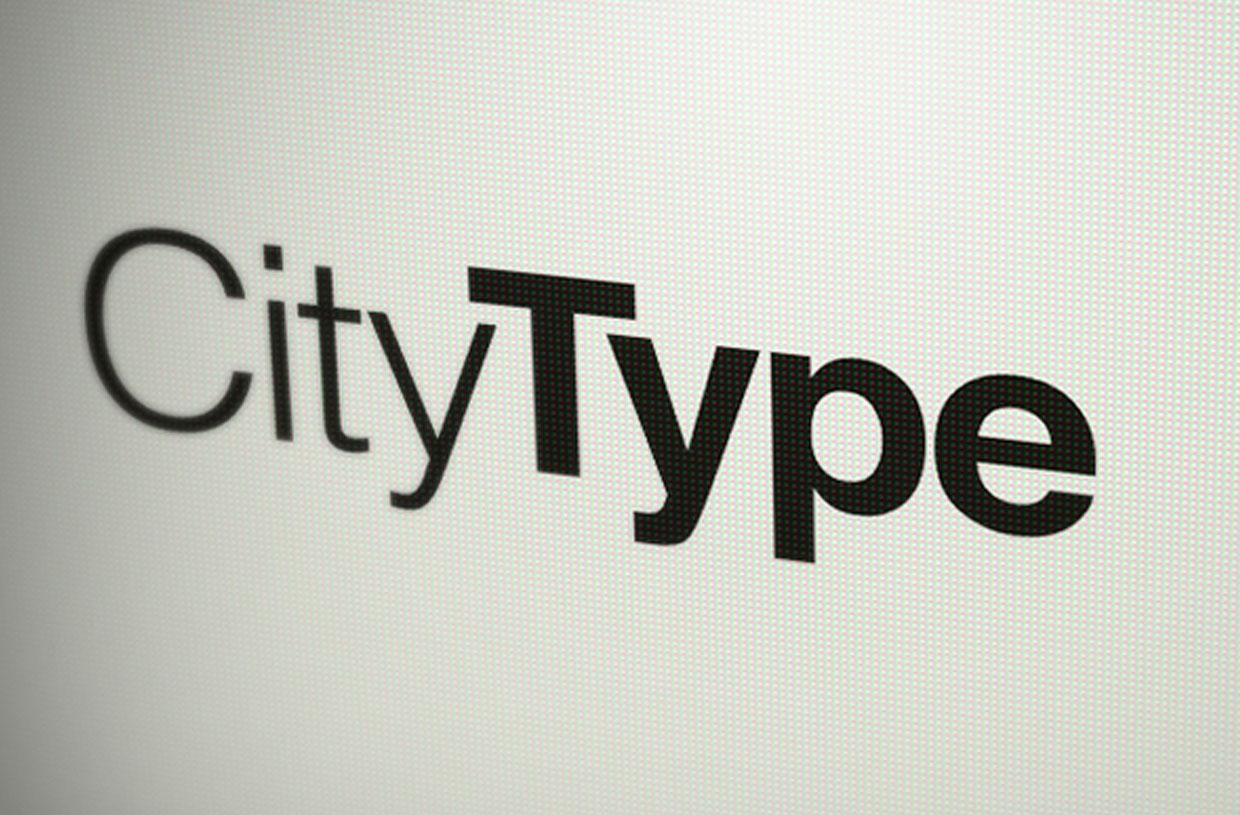 City Type Logo